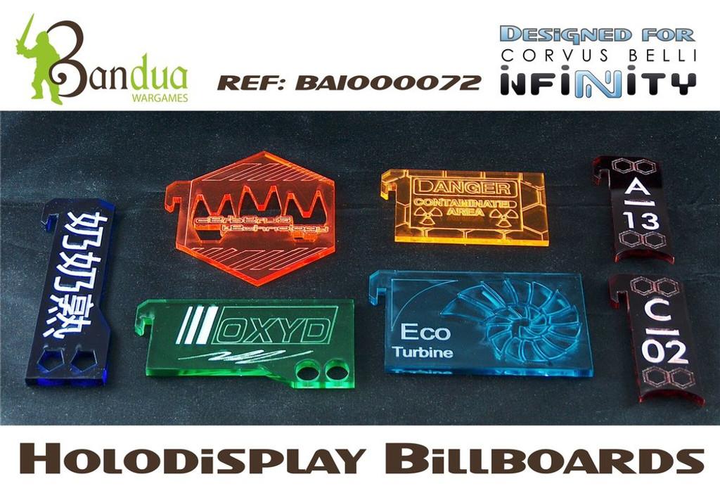Bandua -  Holodisplay Billboards
