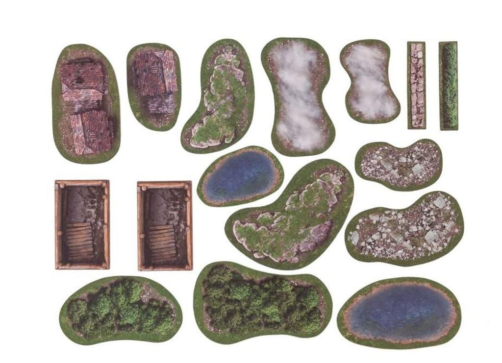 GameMat - Meadows 2D terrain set
