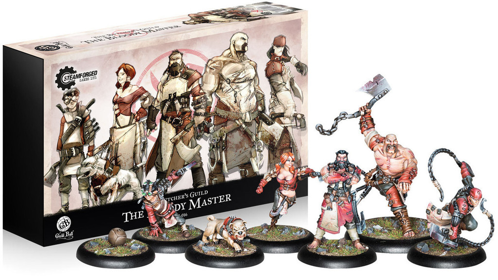 Guild Ball The Butchers Guild The Bloody Master