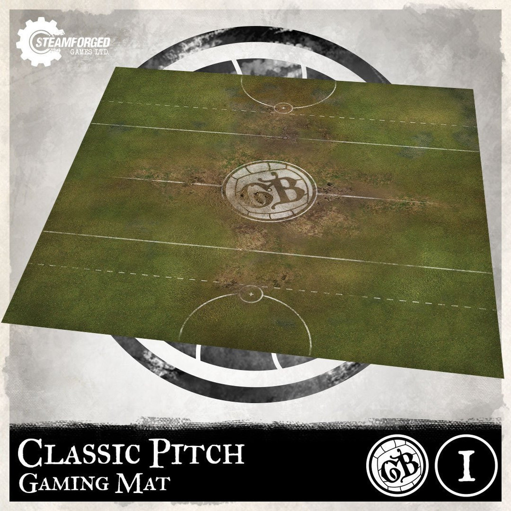 Guild Ball Guild Ball Play Mat Classic Pitch