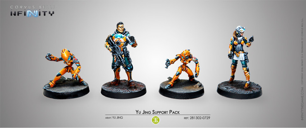 YU JING SUPPORT PACK (NEW)