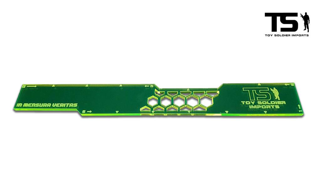 TSI 8 Inch Range Ruler