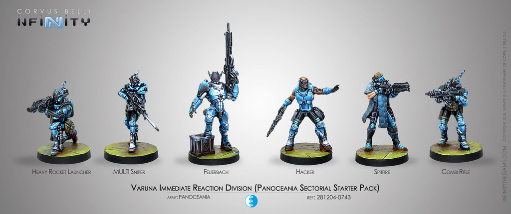 Varuna Immediate Reaction Division (Panoceania Sectorial Starter Pack)