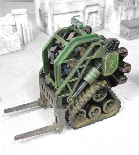 Heavy Industrial Forklift (Radial Engine)