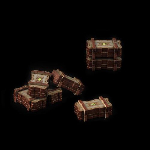 Battle Kiwi - Ammo Crates