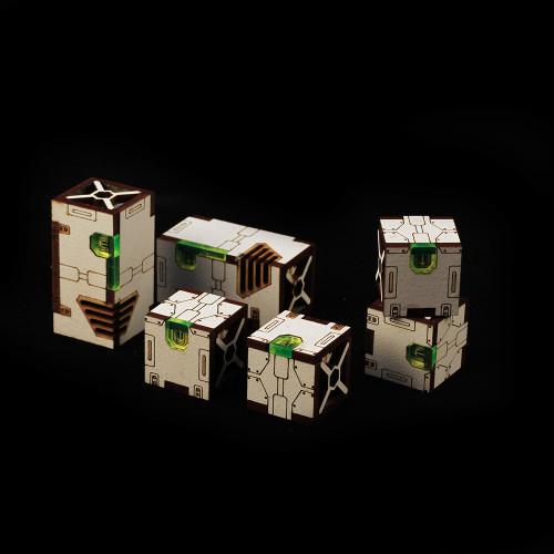 Battle Kiwi - Cargo Boxes