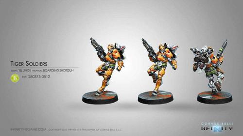 Tiger Soldiers  (Boarding Shotgun)