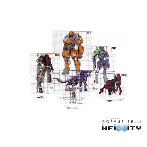 WARSENAL INFINITY FULL COLOUR SILHOUETTE TEMPLATES