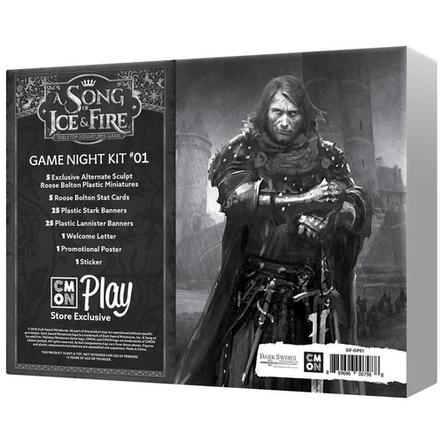 A Song of Ice and Fire Game Night Kit