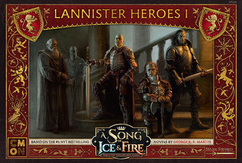 A Song of Ice and Fire Lannister Heroes 1