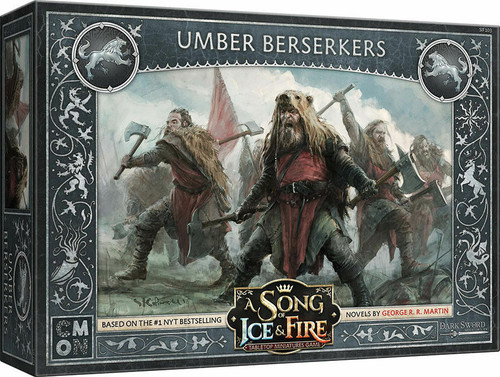 A Song of Ice and Fire Stark Umber Berserkers