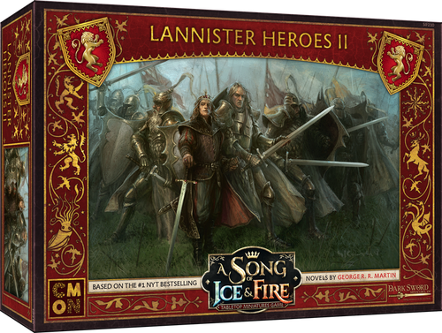 A Song of Ice and Fire Lannister Heroes Box 2