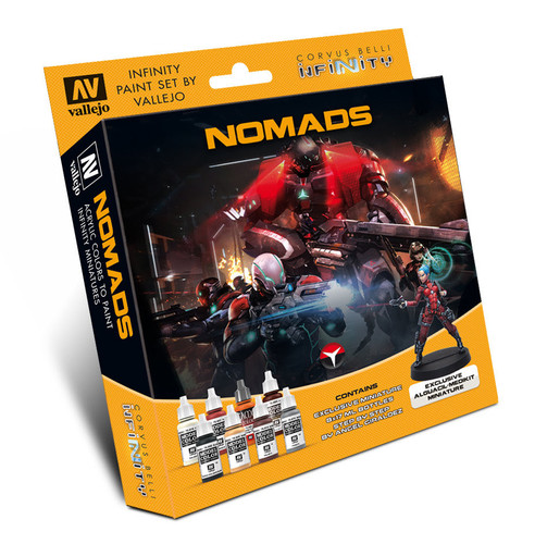 Model Colour Set: Infinity Nomads  with Exclusive Miniature