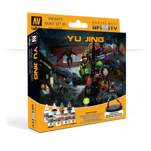 Model Color Set: Infinity Yu Jing (+ exclusive miniature)