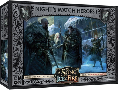 A Song of Ice and Fire Nights Watch Heroes Box 1