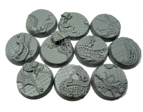 Steel Invasion - resin bases by Secret Weapon