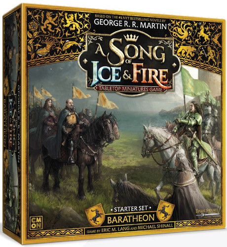 A Song of Ice and Fire Baratheon Starter Set