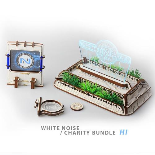 White Noise Charity bundles by Battle Kiwi