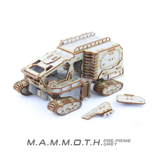 Battle Kiwi - MAMMOTH - Pre-Primed Grey