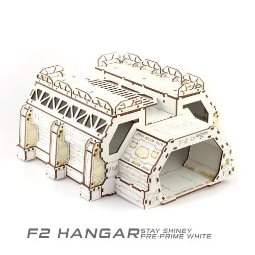 Battle Kiwi - Hanger F2 - Pre-Primed White