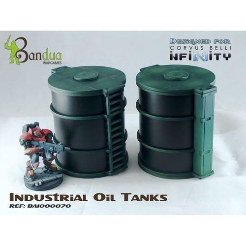 Bandua - INDUSTRIAL OIL TANKS