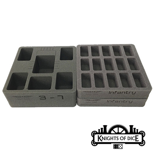 Knights of Dice Infinity Infantry Foam Set