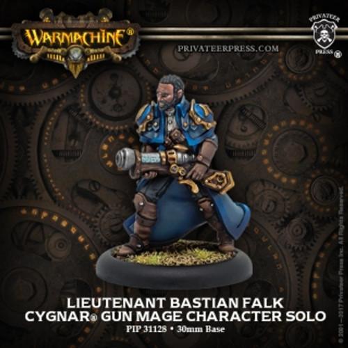 Cygnar Lieutenant Bastian Falk