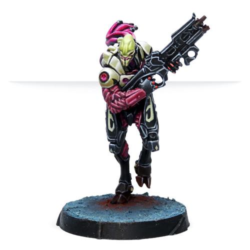 Infinity Shasvastii Seed-Soldiers (Combi Rifle)