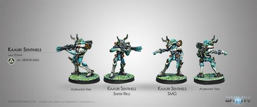 Kaauri Sentinels  (Submachine gun/ Sniper)