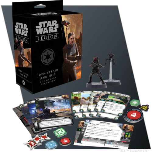 Star Wars Legion Iden Veriso and ID10 Commander Expansion