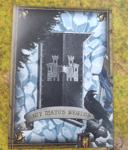 Nights Watch Card Sleeve 50pc