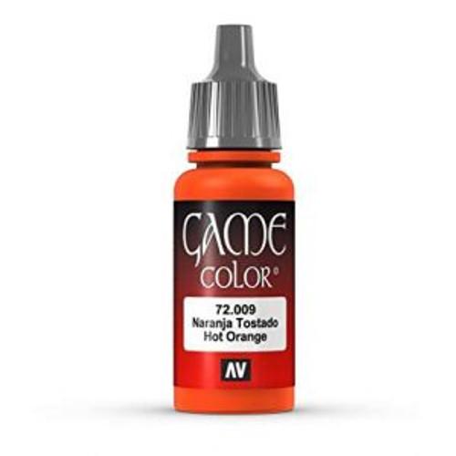 72.009 Vallejo - Game Colour Hot Orange 17 ml Acrylic Paint
