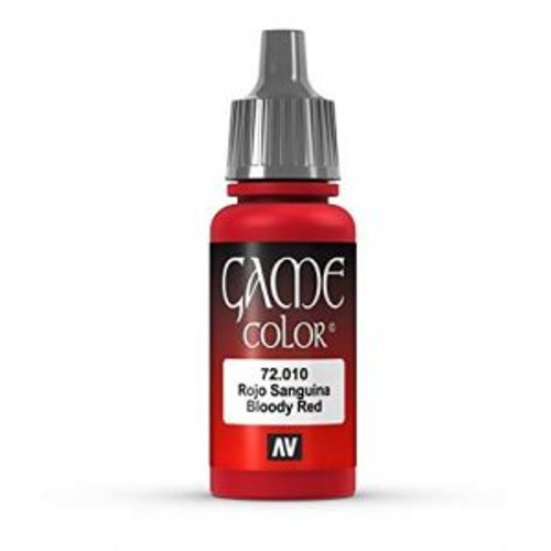 72.010 Vallejo - Game Colour Bloody Red 17 ml Acrylic Paint