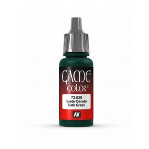 72.028 Vallejo - Game Colour Dark Green 17 ml Acrylic Paint