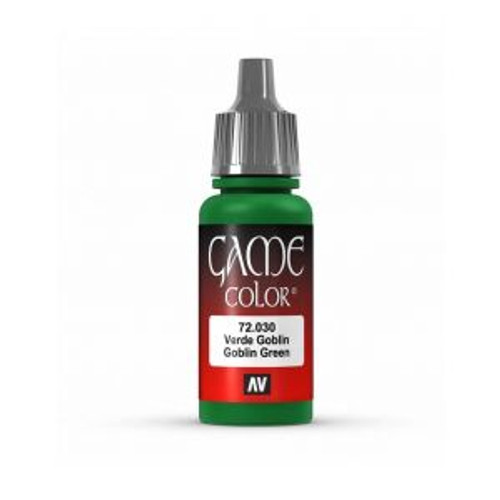 72.030 Vallejo - Game Colour Goblin Green 17 ml Acrylic Paint