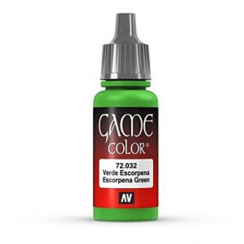 72.032 Vallejo - Game Colour Scorpy Green 17 ml Acrylic Paint