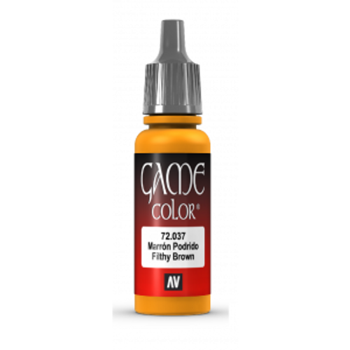 72.037 Vallejo - Game Colour Filthy Brown 17 ml Acrylic Paint