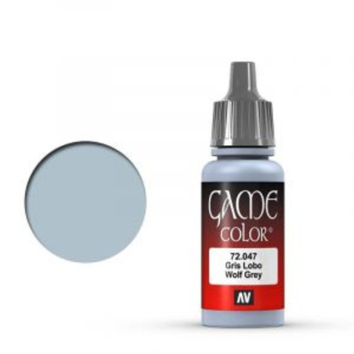 72.047 Vallejo - Game Colour Wolf Grey 17 ml Acrylic Paint