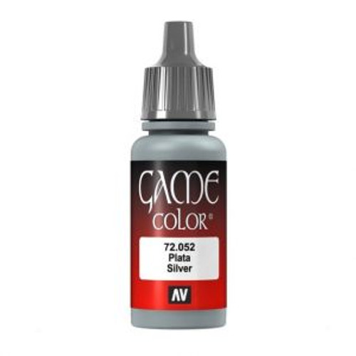 72.052 Vallejo - Game Colour Silver 17 ml Acrylic Paint