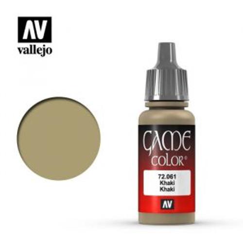 72.061 Vallejo - Game Colour Khaki 17 ml Acrylic Paint