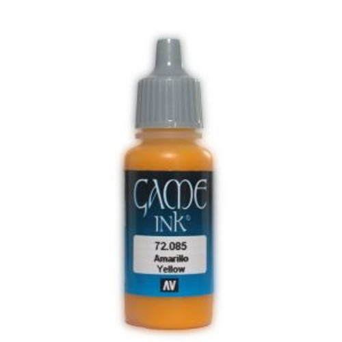 72.085 Vallejo - Game Colour Ink Yellow 17 ml Acrylic Paint