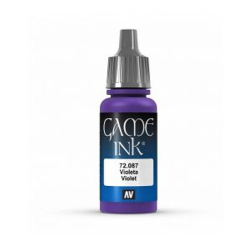 72.087 Vallejo - Game Colour Ink Violet 17 ml Acrylic Paint
