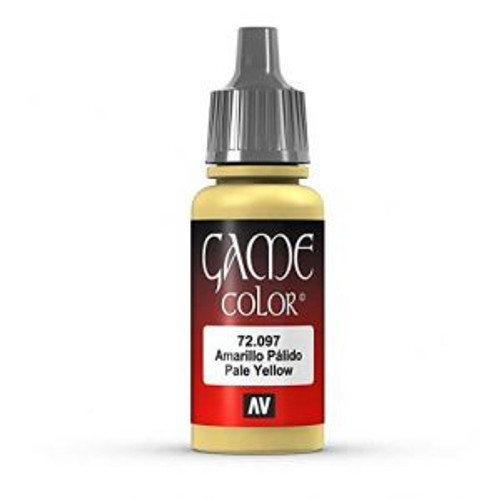 72.097 Vallejo - Game Colour Pale Yellow 17 ml Acrylic Paint