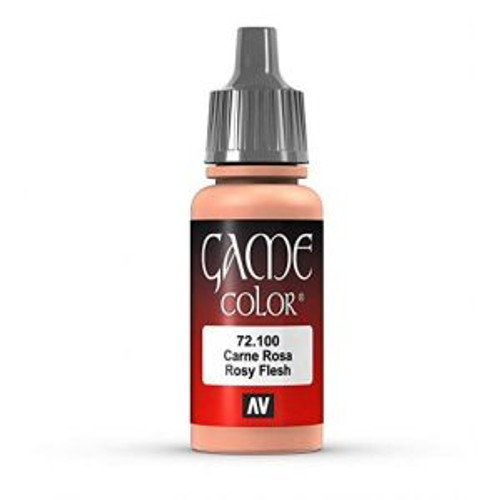 72.100 Vallejo - Game Colour Rosy Flesh 17 ml Acrylic Paint