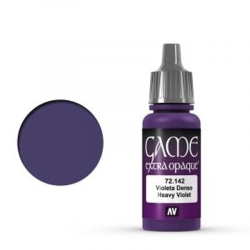 72.142 Vallejo - Game Colour Extra Opaque Heavy Violet 17 ml Acrylic Paint