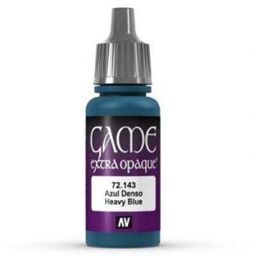 72.143 Vallejo - Game Colour Extra Opaque Heavy Blue 17 ml Acrylic Paint