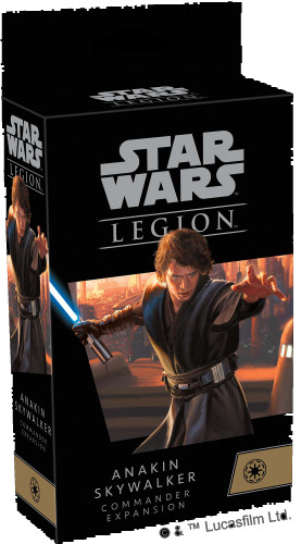 Star Wars Legion Anakin Skylwaker Commander Expansion