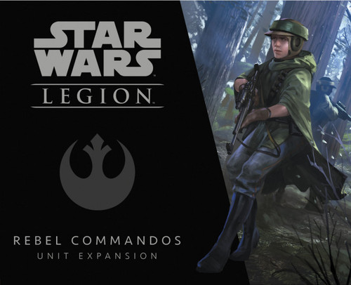 Star Wars Legion Rebel Commandos Unit