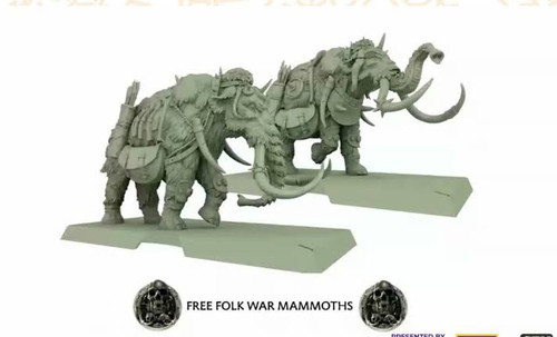 A Song of Ice and Fire Free Folk Mammoth