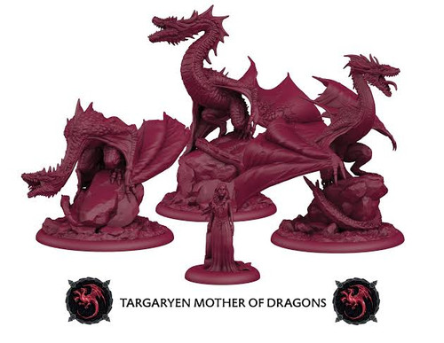 A Song of Ice and Fire Targaryen Mother of Dragons